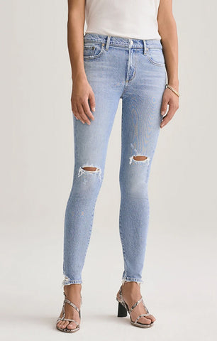 AGOLDE Sophie Mid Rise Skinny Ankle Jean in Shrine A123-3002
