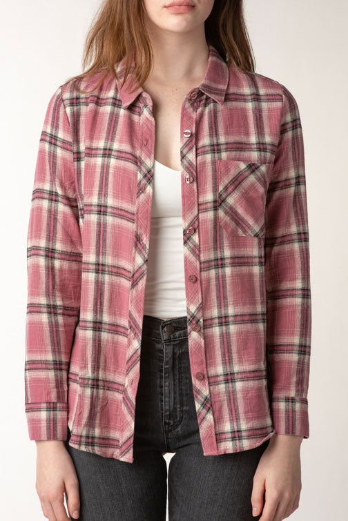 Flannel Plaid Shirt (more colors)