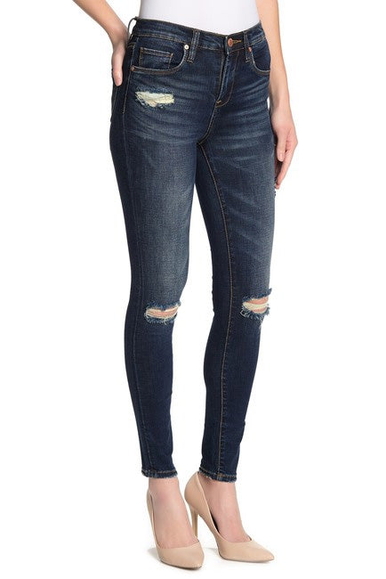 BLANKNYC The Great Jones Distressed Skinny Jean in The Misfit 03CA7002-MISFI