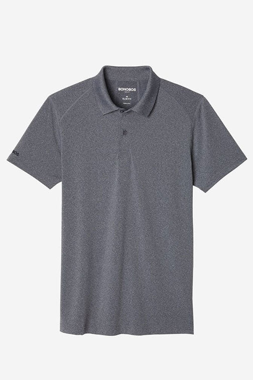 Bonobos Flex Flatiron Polo Heather Gre 23839-GYG35