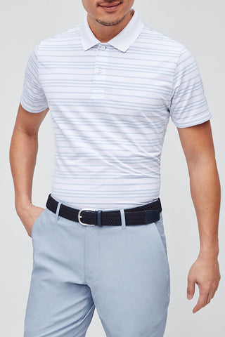 Bonobos Alto Stripe Golf Shirt 25937-WT537