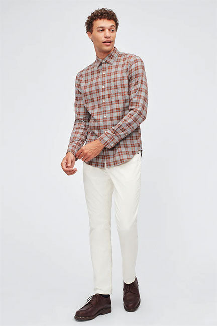 Bonobos Brushed Button Down Slim Fit Shirt 26962
