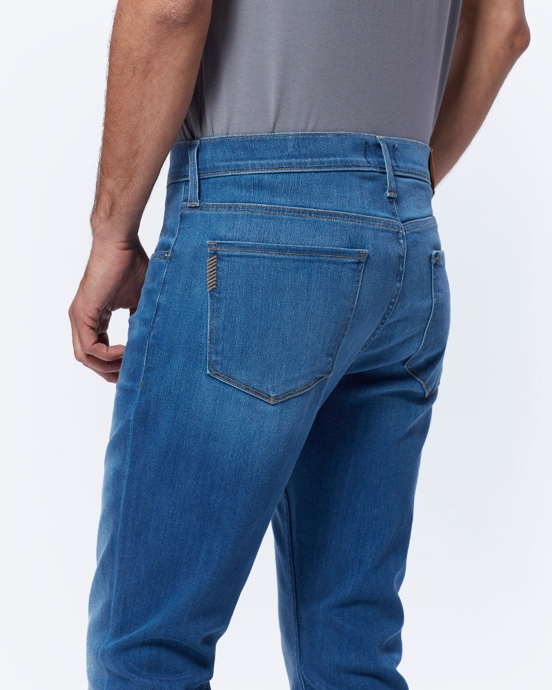 Paige Federal Slim Straight Jean - Bales