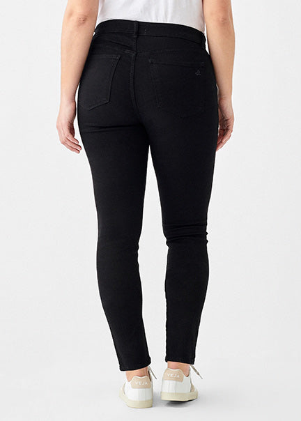 DL1961 Florence Skinny Mid Rise Instasculpt Jean 3390 in HAIL