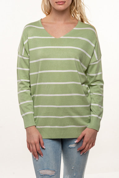 Dreamers Line Up Sweater T3834 (more colors)