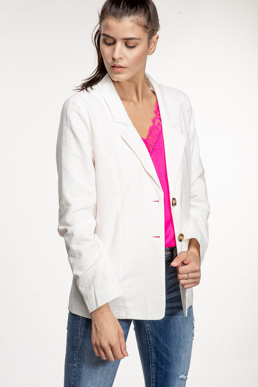 White Out Blazer