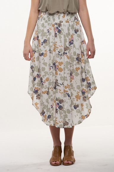 Final Touch Floral Maxi Skirt S16762X