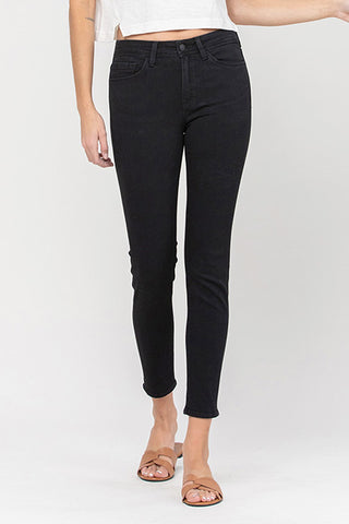 Flying Monkey Mid Rise Ankle Skinny Y2849-RAV
