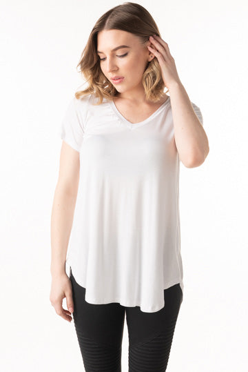 Freeloader Short Sleeve V-Neck Top (more colors)