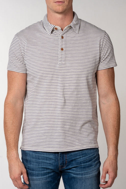 Grayers Malaga Cove Stripe Polo K008218