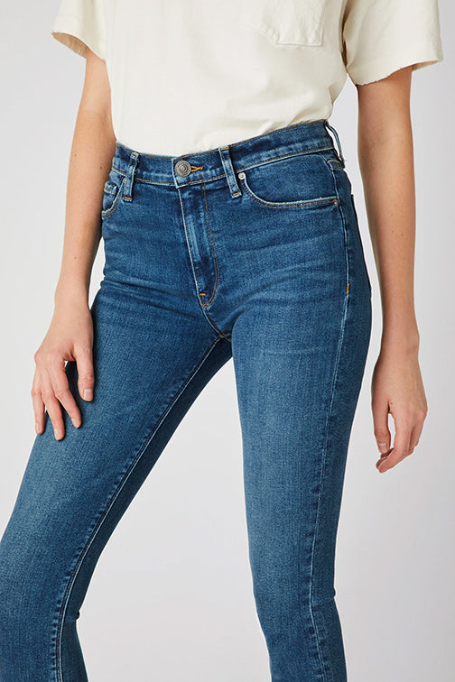 Hudson Barbara Hi Waist Super Skinny Ankle Jean in Temptation WHA407DRI-TEMP