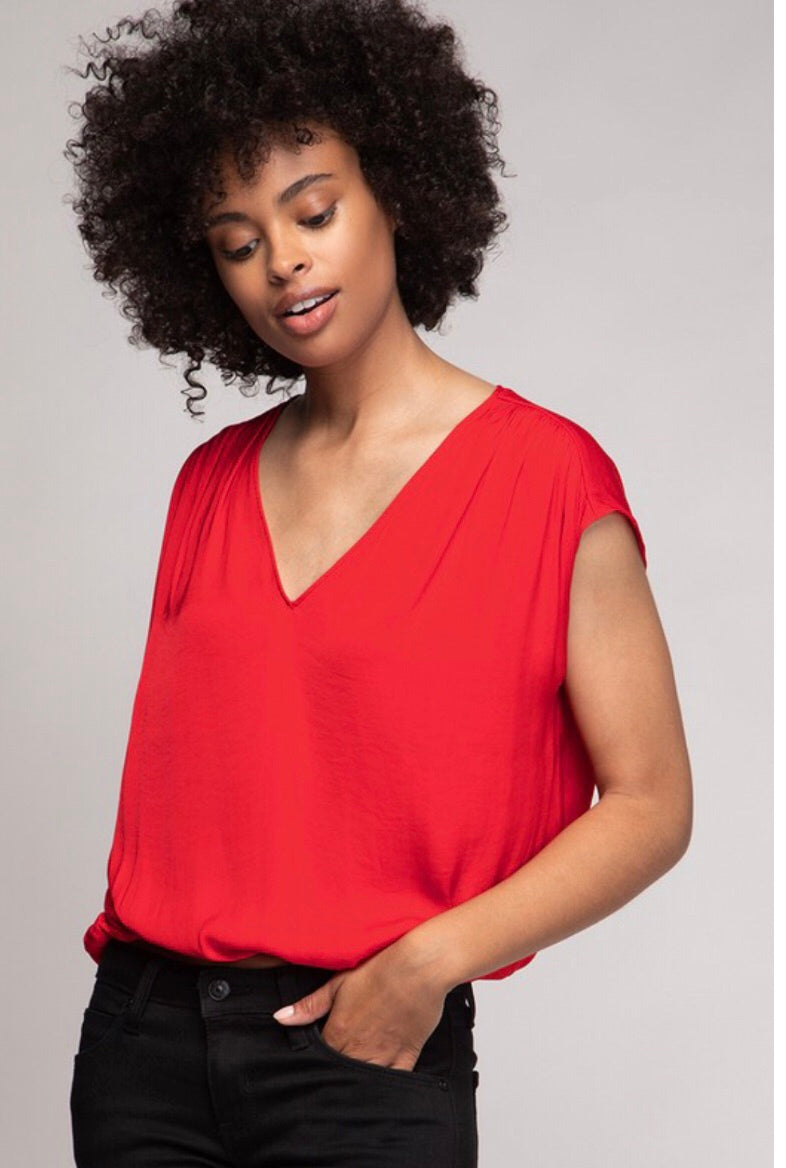 Everyday V Neck Top (more colors)