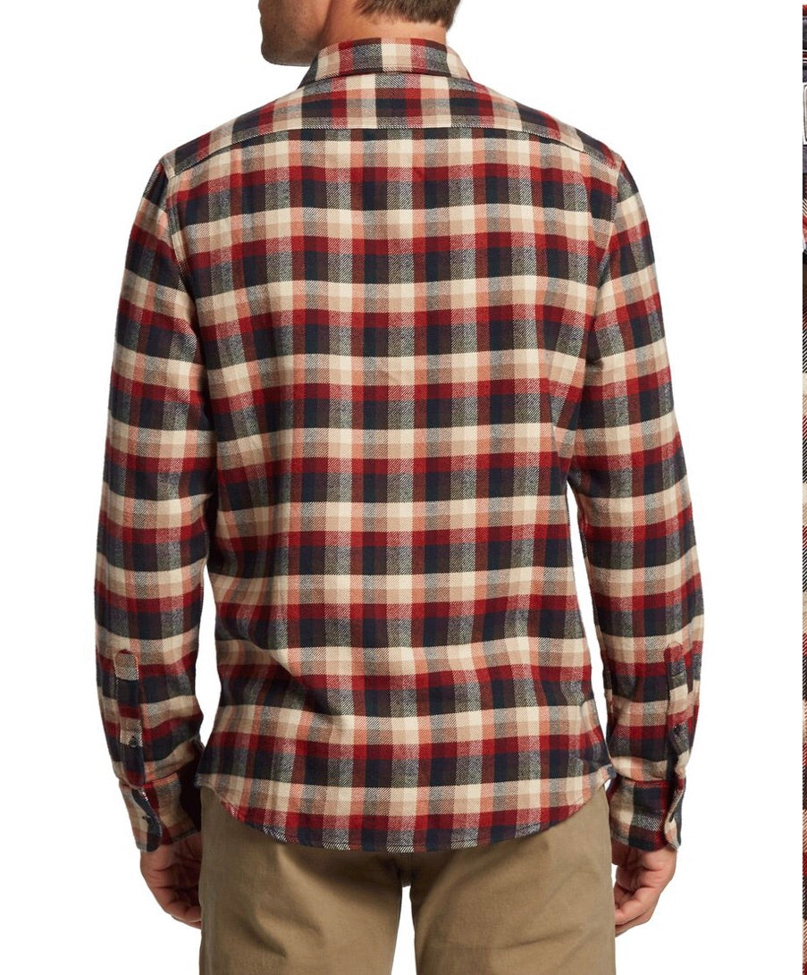 Flag and Anthem Stantonburg Long Sleeve Flannel Shirt FA19WS030