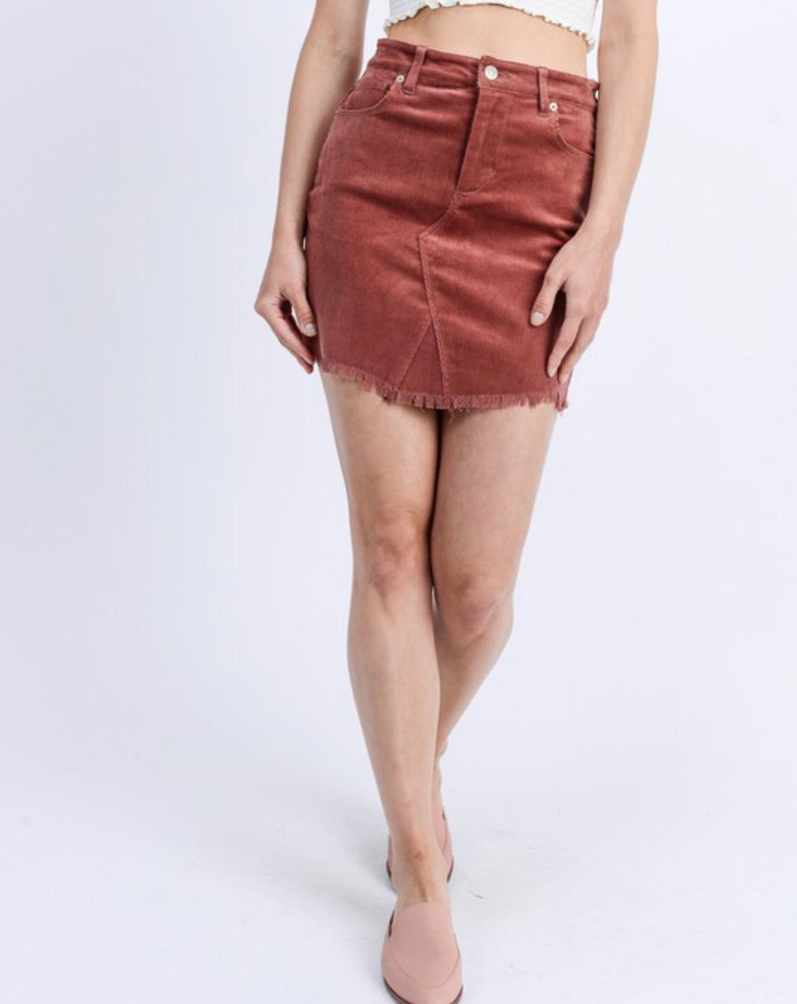 Cord Skirt (more colors)