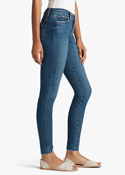 Joes Jeans Icon Mid Rise Ankle Destroyed Hem in Unity TDFUNT5968-UNI