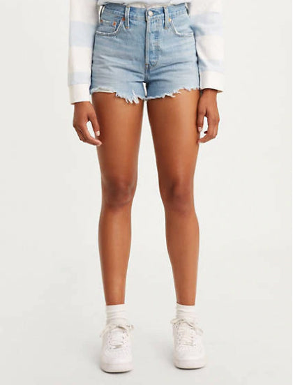 Levis 501 Short Luxor Light Destroyed Short 32317-0129