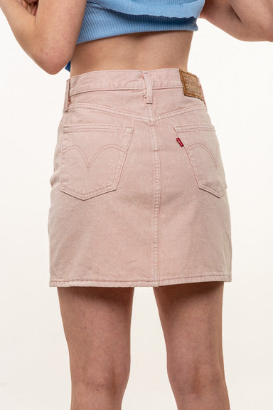 Levis Decon Icnic Button fly Slacker Skirt 77882-0013