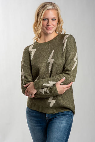Lush Bolt Sweater