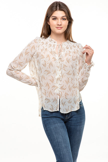 Millibon Smocking Top IT30401