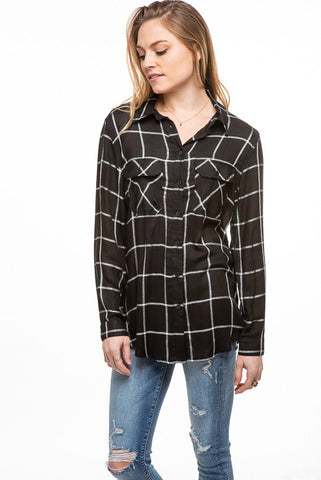 Checker L/S Pocket Shirt IT7569D
