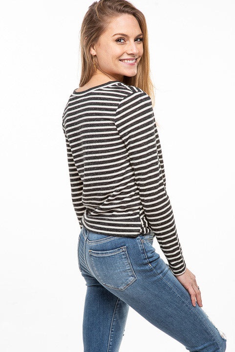 Knotted Stripe Top S15324