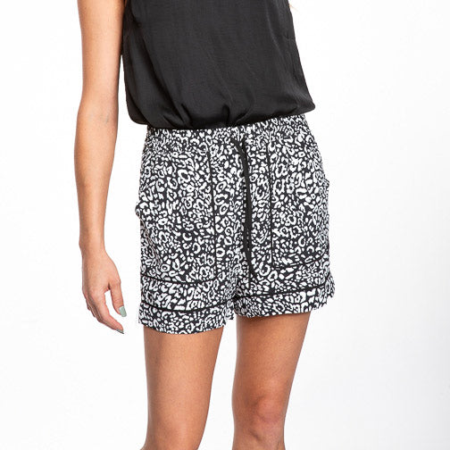 Naked Zebra Animal Shorts