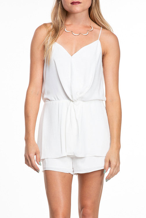 Naked Zebra Twisty Romper (more colors)