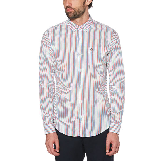 Original Penguin Long Sleeve Woven Shirt OPWS9101