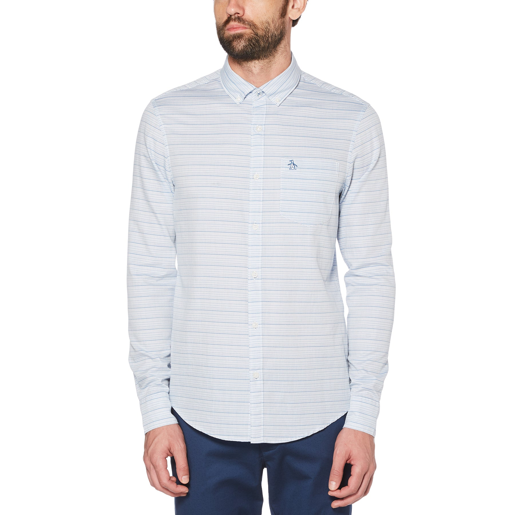 Original Penguin Long Sleeve Woven Shirt OPWS9133