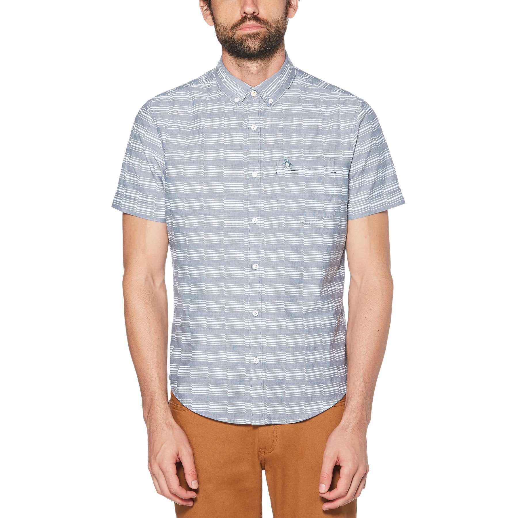 Original Penguin Short Sleeve Woven Shirt OPWS9141