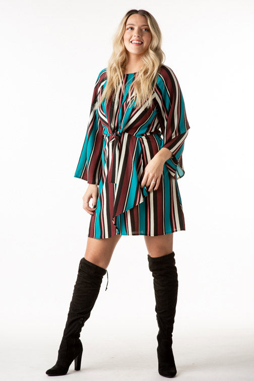 Bold Stripe Dress