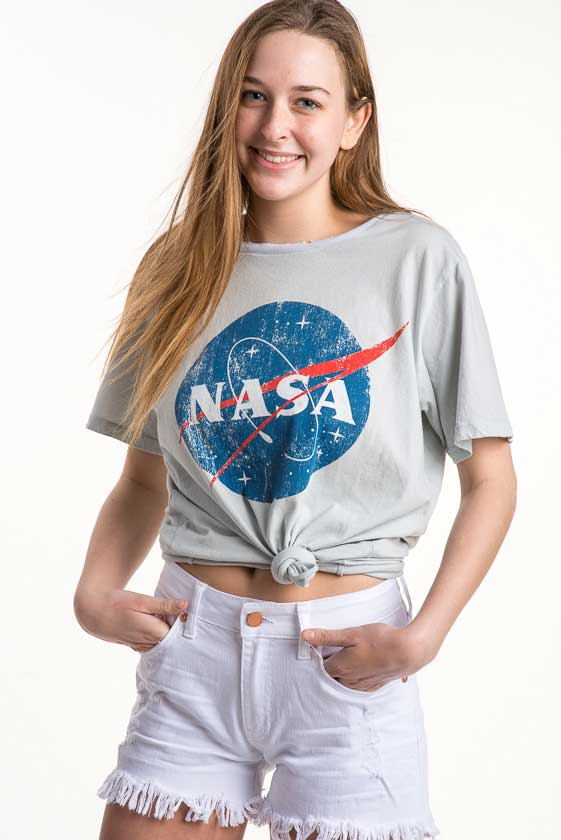 Recycled Karma Nasa Tee