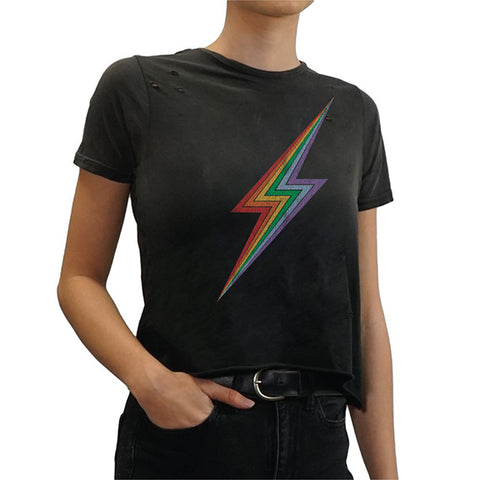 Retro Brand Triblend Bolt Tee