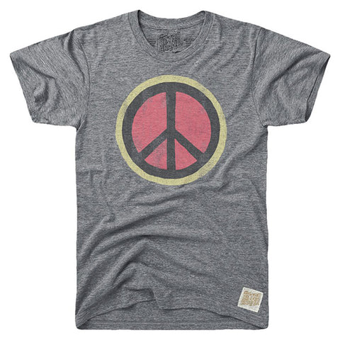 Retro Brand Vintage Peace Sign Tee RB1925RTF5947B