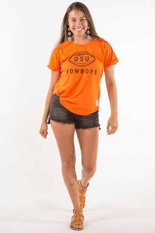 Retrobrand Cowboys Football Boyfriend Tee