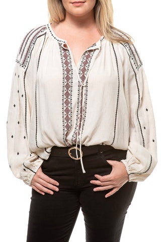Embroidered Shirt 40761