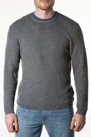 Stitch Note Merino Wool Sweater SNK-315