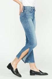 Hudson Holly Highrise Crop Straight Jean WH2049DPP-LNSM