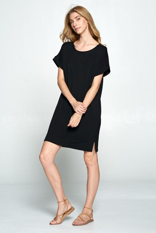 Ellison T Shirt Dress TD-9140-6