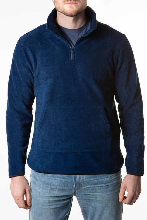 Threads 4 Thought Pershing 1/2 Zip Polar Fleece Pullover Top
