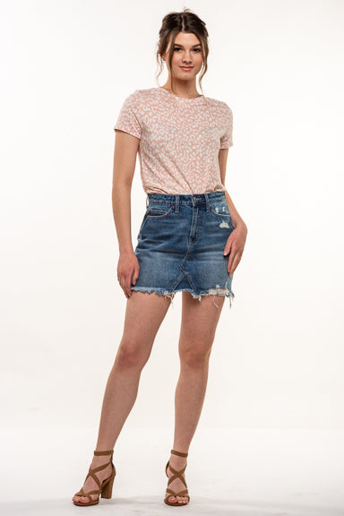 Vervet Denim Skirt VT756
