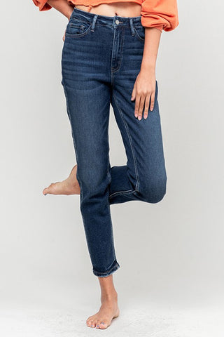 Vervet Jeans Stretch Mom Jean VT1190-RIV