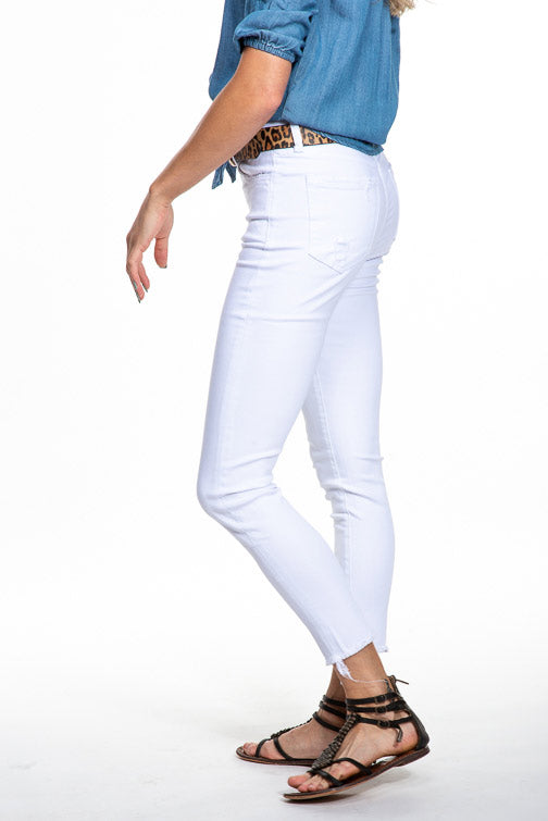 Vervet Hi Rise Crop Skinny Jean in Madison