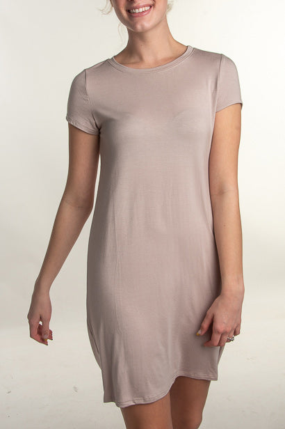 Abigail Spandex T-Shirt Dress