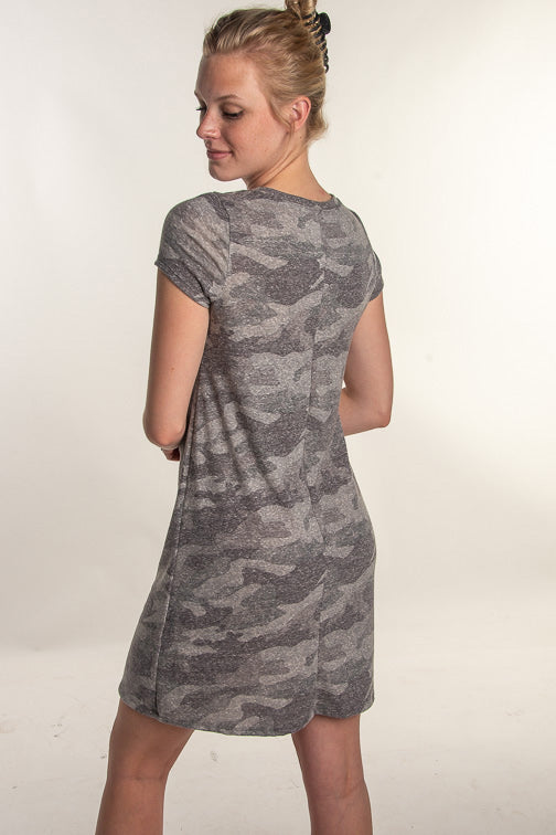 Too Cool Camo Dress