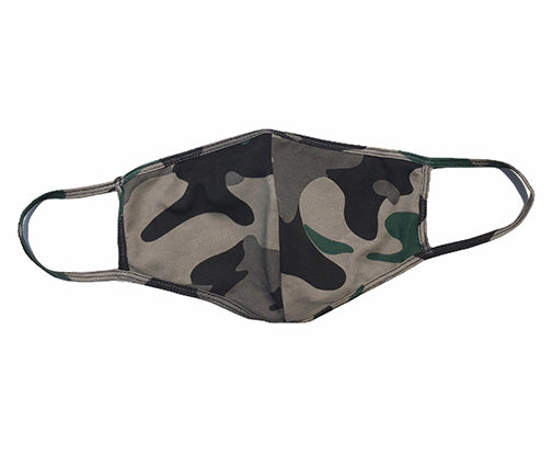 Wholesale Fashion Couture Camo Dbl Layer Face Mask WFC-MASK187