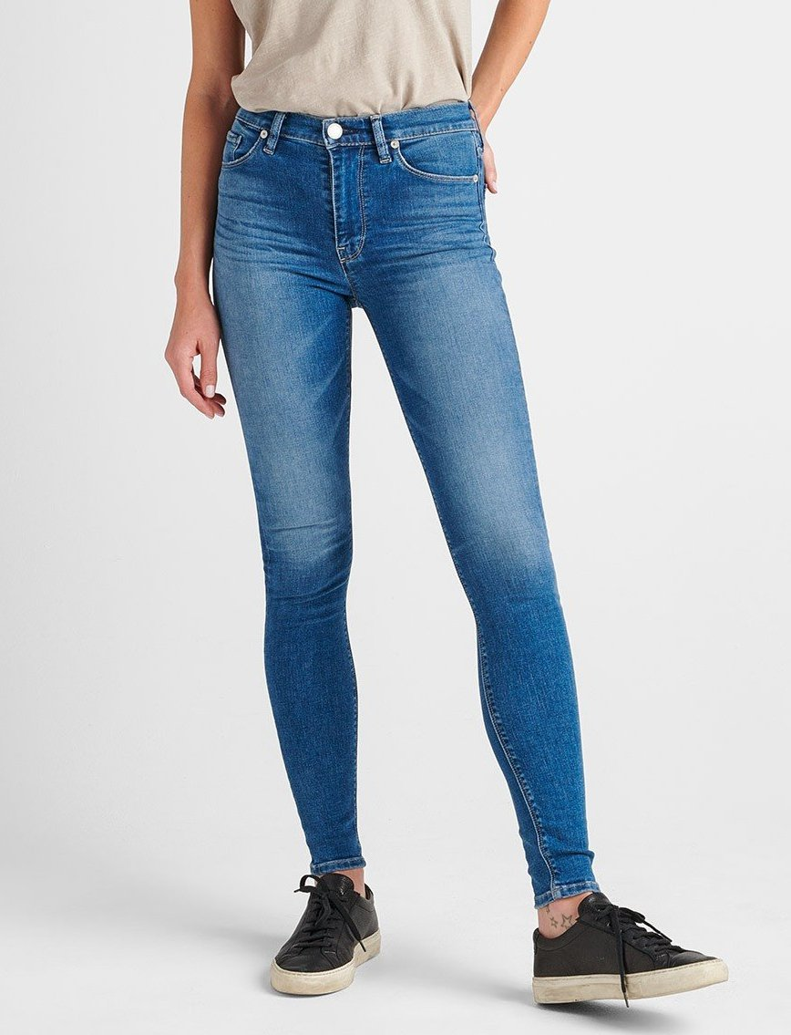 bbef1ee7c71 HUDSON JEANS Barbara High Rise Super Skinny Jean-Ayon WH407DLV-AYON - Gil's  Clothing & Denim Bar