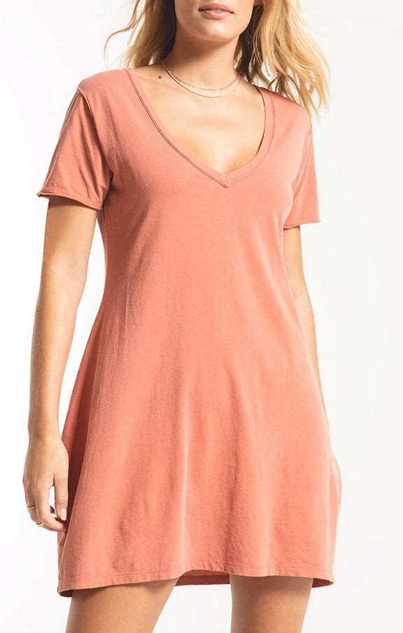 Z Supply Organic Cotton T-shirt Dress ZD201272