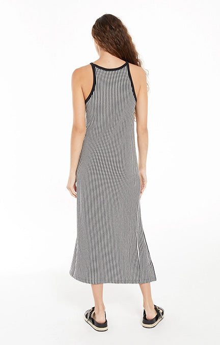 Z SUPPLY Palisades Stripe Midi Dress ZD212203