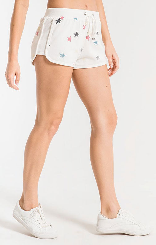 Z Supply Distressed Star Short ZS201251